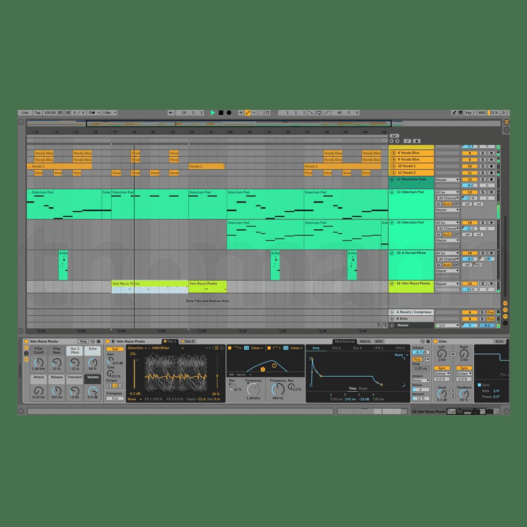 Ableton Live 10 - Editing mode - DAW