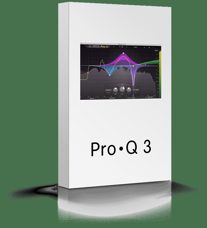 Box Fabfilter Pro Q 3 - Plugin EQ - TOP10 - Classement - WE COMPOZE
