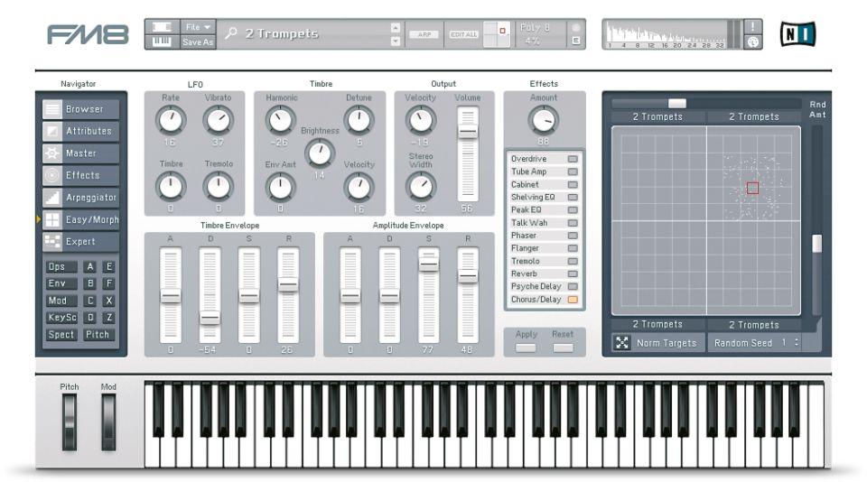 NI, Native Instruments, FM8, Modular, VST, Plugin, Synth